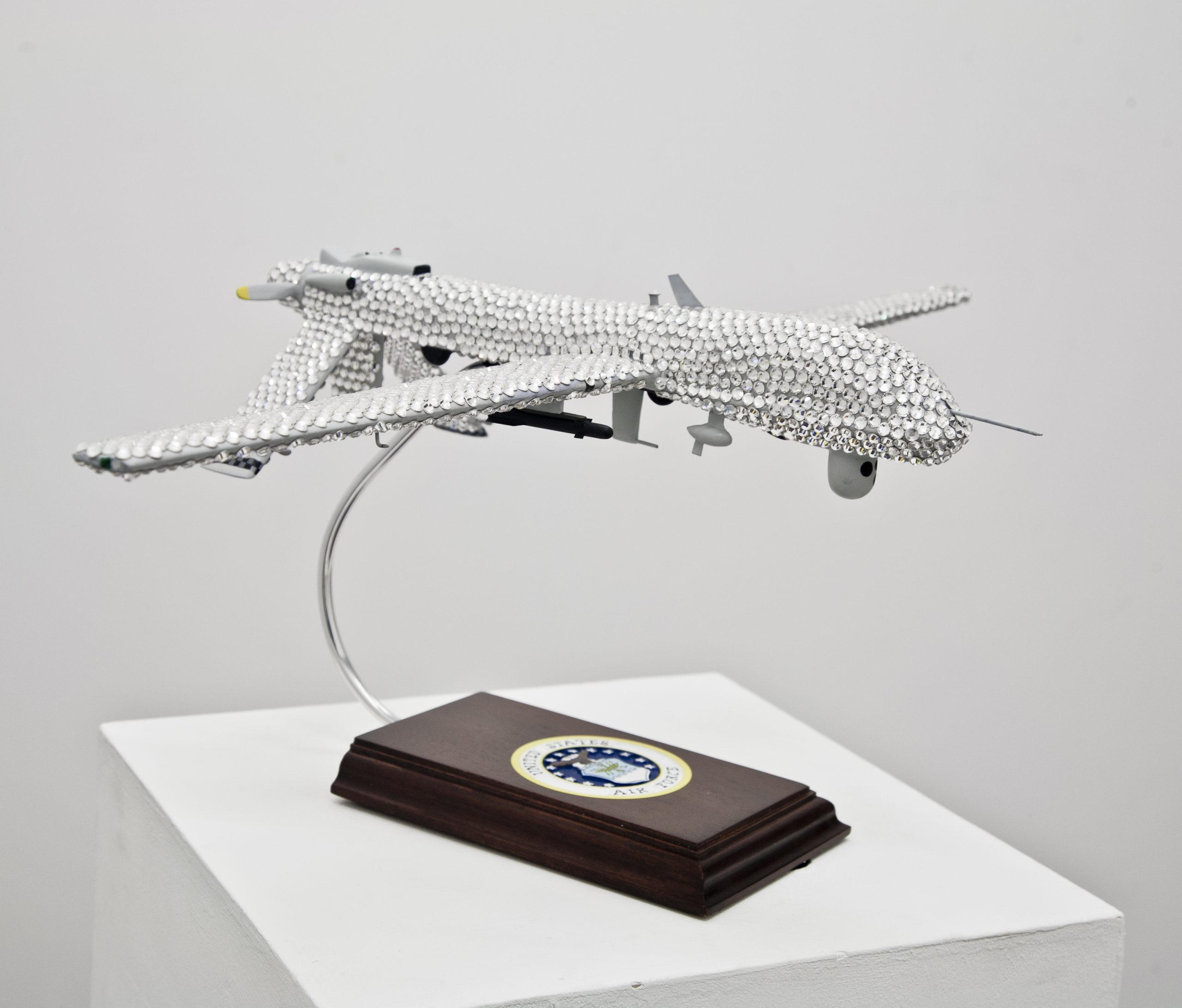Geroge Barber The Rhinestone Drone  in The Freestone Drone  1 February - 23 March 2013  waterside contemporary http://waterside-contemporary.com info@waterside-contemporary.com  2 Clunbury Str London N1 6TT +442034170159