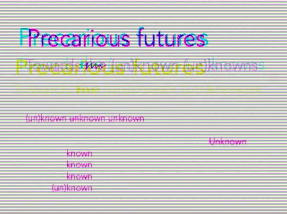 Precarious futures